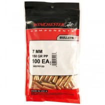 Winchester Bullet 7mm 150Grn PP .284 100 Pack WINB7PP150