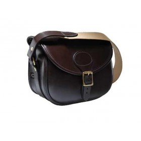 Croots Malton Bridle Leather Cartridge Bag (BL3)