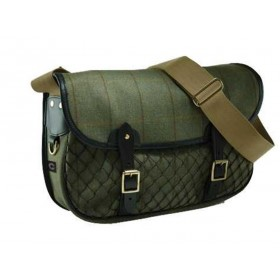 Croots Helmsley Tweed Netted Carry-All