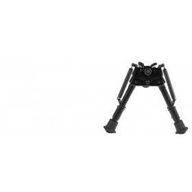 "Harris Adjustable Folding Bipod- Mod BR 6-9"" Swivel (HBRS)"
