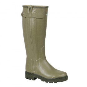 Le Chameau Mens Chasseur Wellington Boots LEATHER