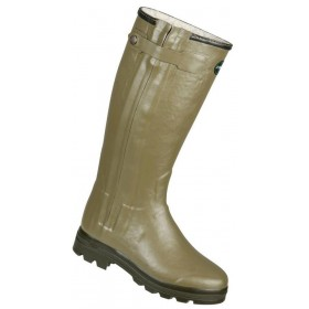 Le Chameau Ladies Chasseur Fouree Wellington Boots FUR