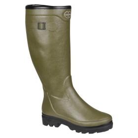 Le Chameau Ladies Country Lady Fouree Wellington Boots FUR