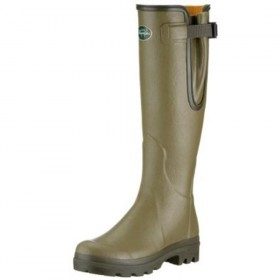 Le Chameau Ladies Vierzon Wellington Boots LEATHER
