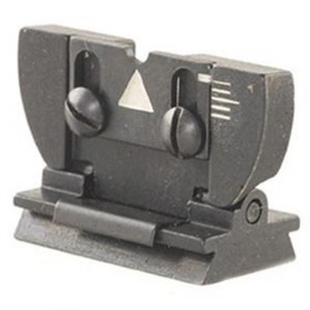 Lyman 16AML Replacement Rear Muzzleloader Hunting Sight with Dovetail for Euro Imports